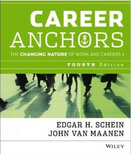 career anchors book cover