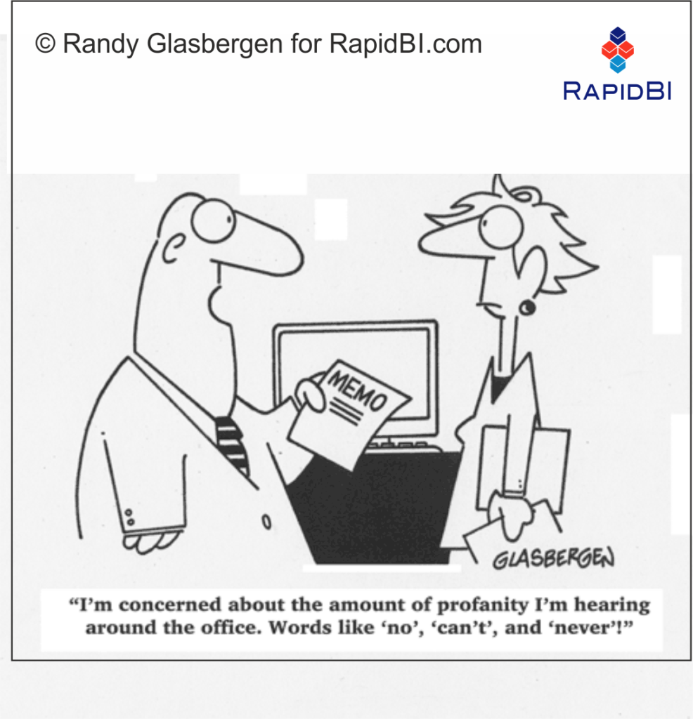RapidBI Daily Business Cartoon #147