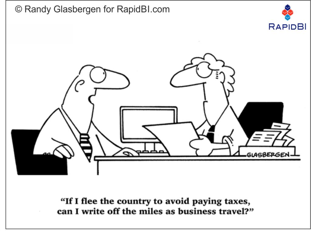 RapidBI Daily Business Cartoon #161