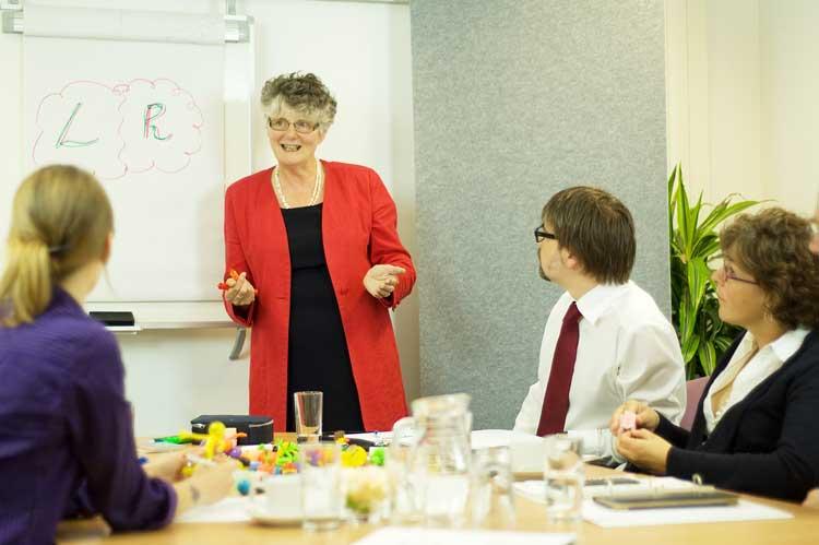 Training customer service, people skills
