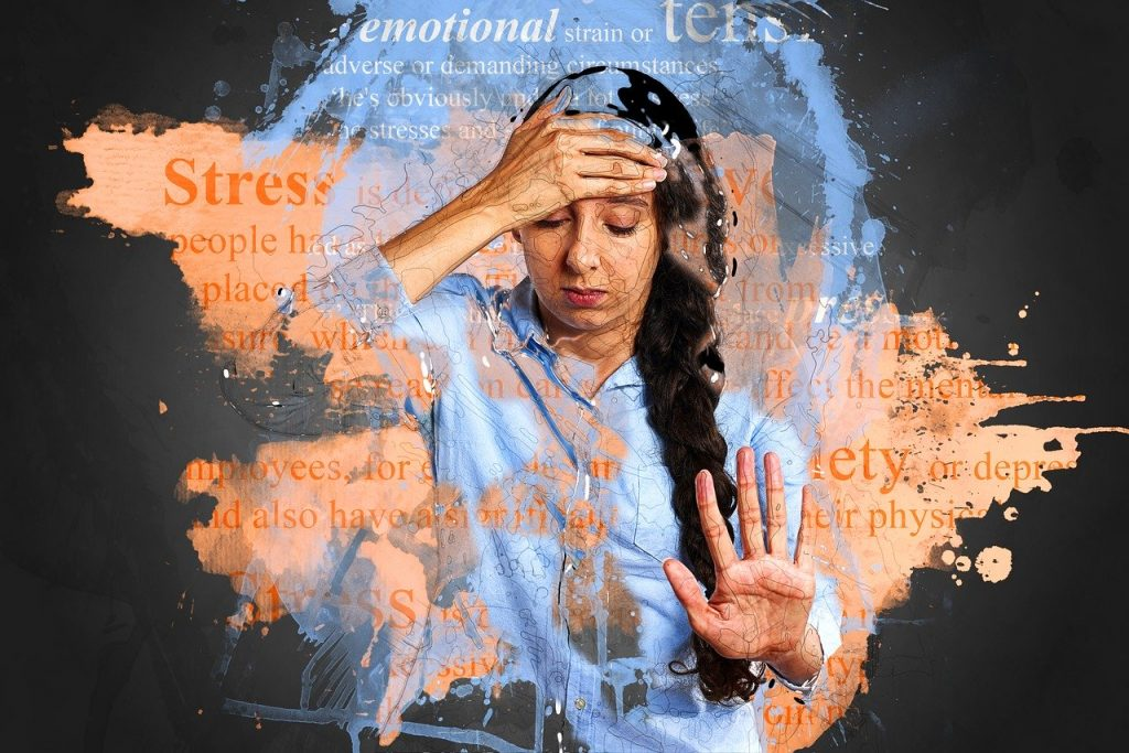 """Woman with hand on head - stress - Image by <a href=""""https://pixabay.com/users/TheDigitalArtist-202249/?utm_source=link-attribution&utm_medium=referral&utm_campaign=image&utm_content=2902537"""">Pete Linforth</a> from <a href=""""https://pixabay.com/?utm_source=link-attribution&utm_medium=referral&utm_campaign=image&utm_content=2902537"""">Pixabay</a>"""